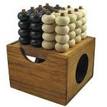 Connect Four 3D - Wooden Strategy Game