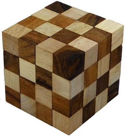 how to solve wooden puzzle cube 2