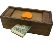 Enigma Secret Puzzle Box 2 - Money Gift Trick Box