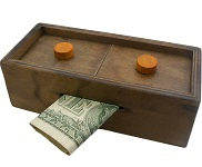 Enigma Secret Puzzle Box 3 - Money Gift Trick Box