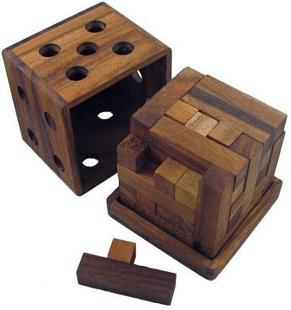 cube wooden puzzle solutions.
