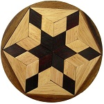Pento Star - Wooden Puzzle Brain Teaser