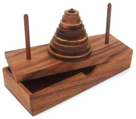 tower of hanoi solutions The tower of hanoi (commonly also known as the towers of hanoi), is a puzzle invented by e lucas in 1883 it is also known as the tower of brahma puzzle and appeared as an intelligence test for apes in the film rise of the planet of the apes (2011) under the name lucas tower given a stack of .
