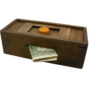 Enigma Secret Puzzle Box 1 - Money Gift Trick Box