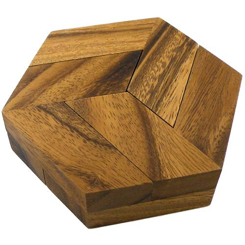 how to take apart wooden crystal puzzle