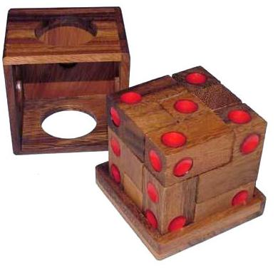 how to take apart wooden ball puzzle