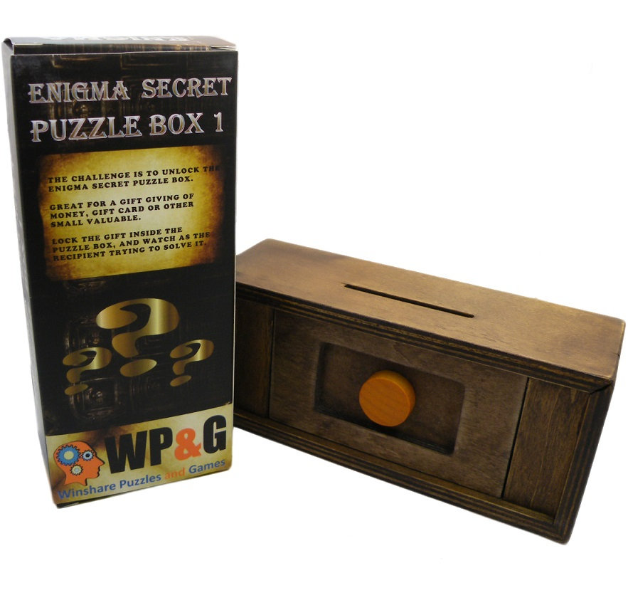 Enigma Secret Puzzle Box 1 Money Gift Trick Box