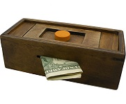 Enigma Discovery Secret Puzzle Box 1 - Money Gift Trick Box