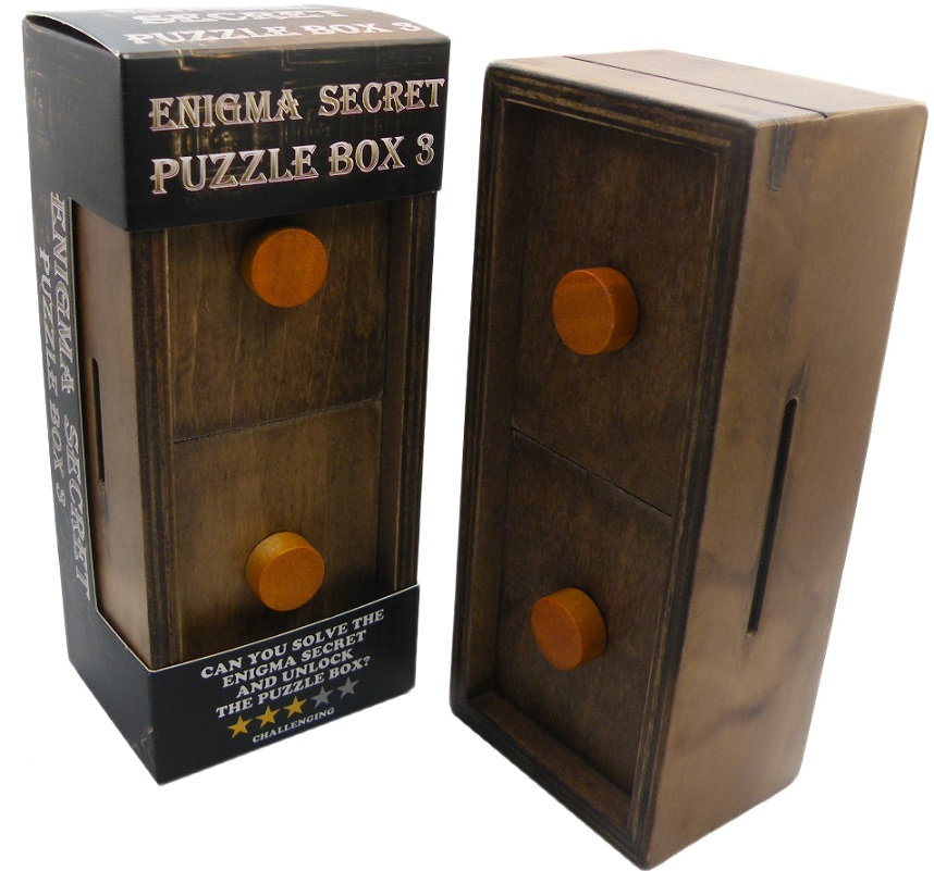 Enigma Secret Puzzle Box 3 Solution Only