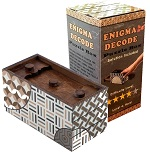 Enigma Decode Puzzle Box - Money and Gift Cards Secret Box