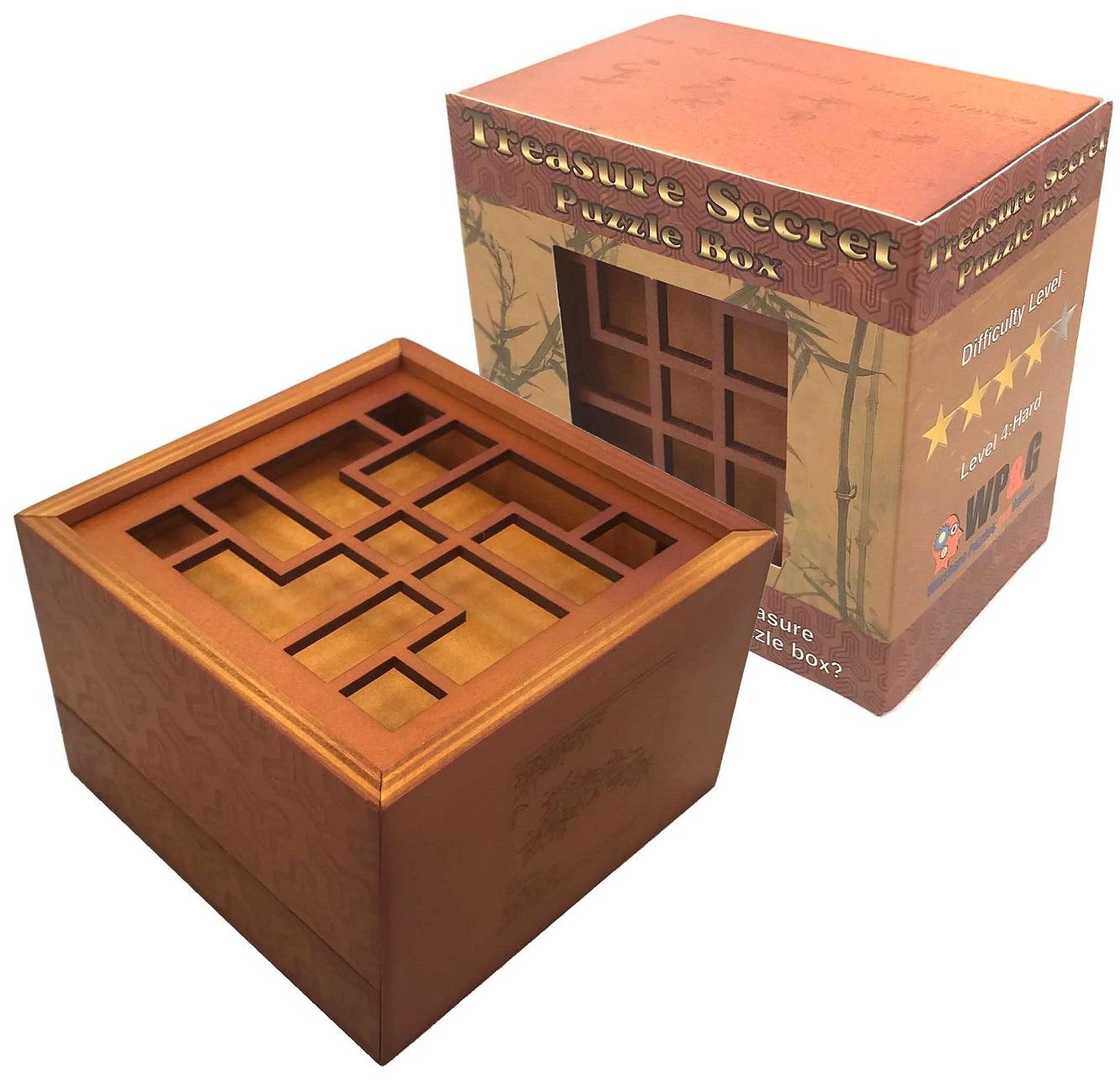 Treasure Secret Puzzle Box Money And Gift Cards Secret Box